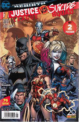 DC Comics:  DC Rebirth: JUSTICE LEAGUE vs SUICIDE SQUAD # 1, Sept 2017 2 Poster!