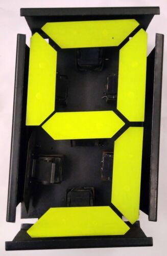 Electromagnetic display module 7-segment 217x130mm 1 pc.