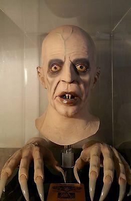 1979 Vintage Don Post Nosferatu Vampire Monster Mask hands not myers distortions