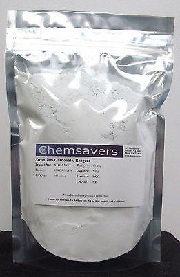 Strontium Carbonate Reagent 99.8 500g