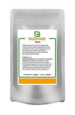 500 g Taurin | Pulver  Aminosäure | Sport | Nutrition