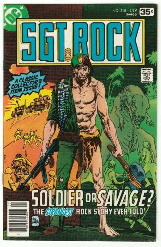 SGT. ROCK #318 JULY 1978 VF 8.0 DC COMICS