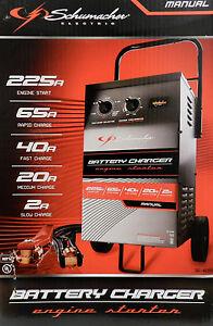 Schumacher Battery Charger Manual >> Schumacher Electric SE 4225 Manual Battery Charger Engine Starter New | eBay