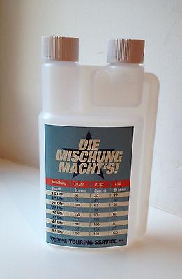 2Takt Öl Dosierflasche Mischflasche für 2Takt Gemisch 250 ml Zweitakter Top