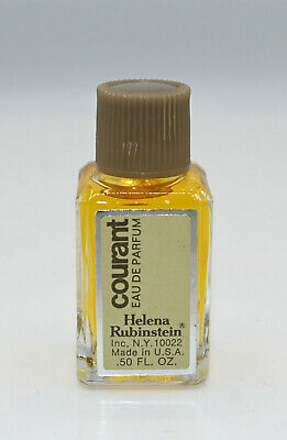 Vintage Helena Rubinstein Courant Eau De Parfum Splash .50 Oz New Old Stock Mini