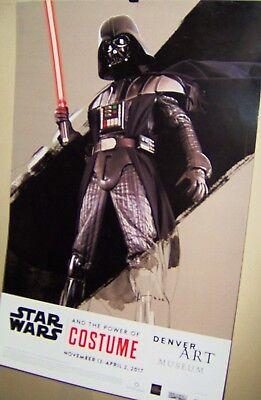 Darth Vader Original Costume (STAR WARS  DARTH VADER And The Power of Costume Poster 2017 Denver Art Museum)