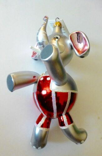 Christopher Radko OLLIE (the Elephant), Christmas Ornament #94-269-0