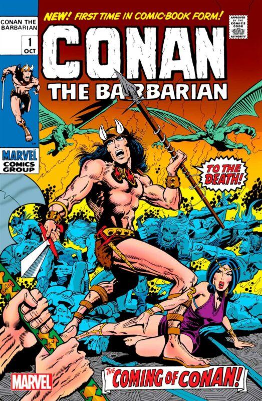 CONAN THE BARBARIAN 1 FACSIMILE EDITION (MARVEL) 11121M