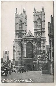 Westminster-Abbey-Photo-Postcard-1915-London