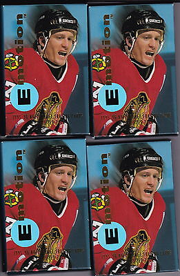 1995-96 Skybox Emotion Hockey 4 Unopened Packs