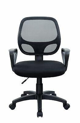 B-WARE Bürostuhl SCHWARZ Chefsessel Schreibtischstuhl Drehstuhl