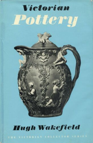 Antique English Victorian Pottery - History Types Makers / Scarce Book
