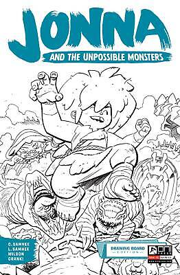JONNA AND THE UNPOSSIBLE MONSTERS #1 DRAWING BOARD ED ONI PRESS INC.