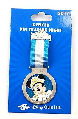 NEW Disney Parks Cruise Line Officer Pin Trading Night DCL 2017