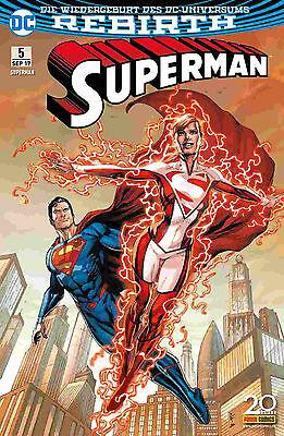 Superman 5 (Rebirth) - Deutsch - Panini - Comic - NEUWARE