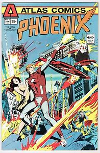 PHOENIX-1-Atlas-Seaboard-Comics-Bronze-Age-1975-VF-NM-UNREAD-HIGH-GRADE