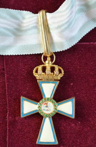 Greece - greek (medal) commander's badge, cross of valor 1940 (reproduction)