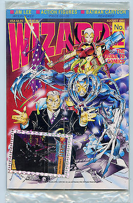 Wizard Magazine Issue  12 Brand New Mint  Bagged 1992 Comic News   Entertainment