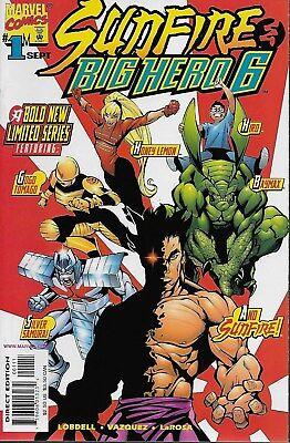 Sunfire & Big Hero 6 No.1-3 / 1998 Scott Lobdell & Gus Vazquez ()