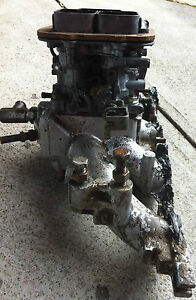 Weber-38DGMS-Carburettor-with-manifold-to-suit-Ford-Escort-from-V6-Capri