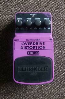 *Sale* Behringer OD100 Overdrive/Distortion Pedal