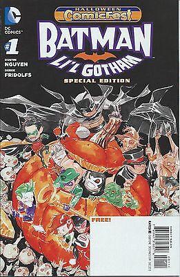 BATMAN LIL GOTHAM SPECIAL ED 1 NM HCF HALLOWEEN COMICFEST 2013 PROMO GIVEAWAY - Gotham Halloween