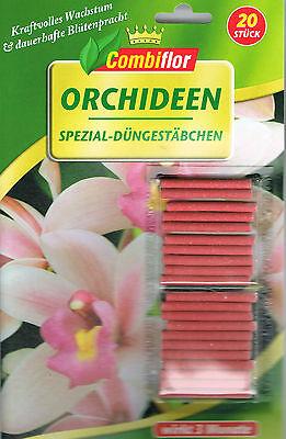Combiflor Düngestäbchen für Orchideen 20 Stück Orchideendünger (€7,45/100g)