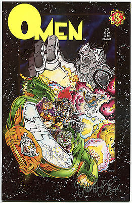 OMEN #3, VF/NM, Signed Tim Vigil, Bloody, Horror, NorthStar, 1987, more in store