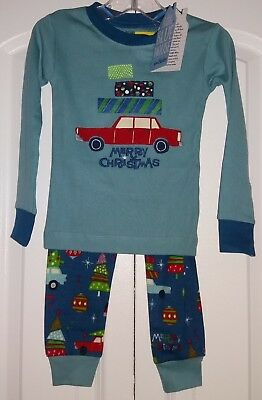 Little Blue House by HATLEY Toddler Boys 2-Pc Christmas Pajamas PJ's ~ Sz 2T NWT - Little Boys Christmas Pajamas