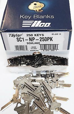Taylor SC1 Nickel Key Blanks