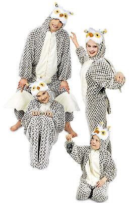 Eule Eulen Plüsch Kostüm Overall Vogel Tier Eulenkostüm Löwe Tiger Katze - Plüsch Katze Kostüm