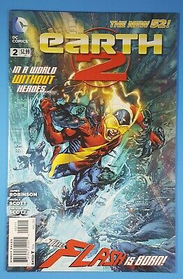 Earth 2 #2 The Flash is Born DC Comics 2012 The New 52! (New Flash 52)