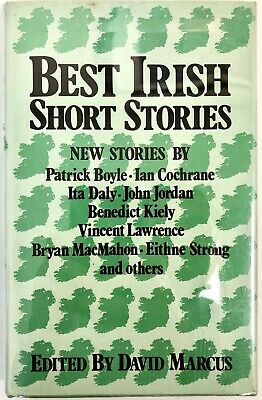 Best Irish Short Stories - David Marcus, Editor PRISTINE H/C First Edition 1976
