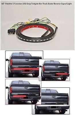 LED Tailgate Light Bar For Isuzu D-Max D Max 2007-2014 Truck Pickup Turn Signal