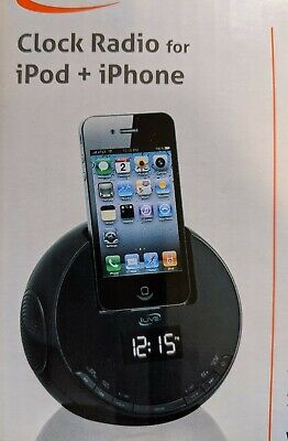 iLive ICP101B Alarm Clock Radio For iPod and iPhone