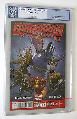 Guardians Of The Galaxy  1 Pgx 9 6 Nm  Not Cgc 1St Prnt 2013 Starlord Rocket App
