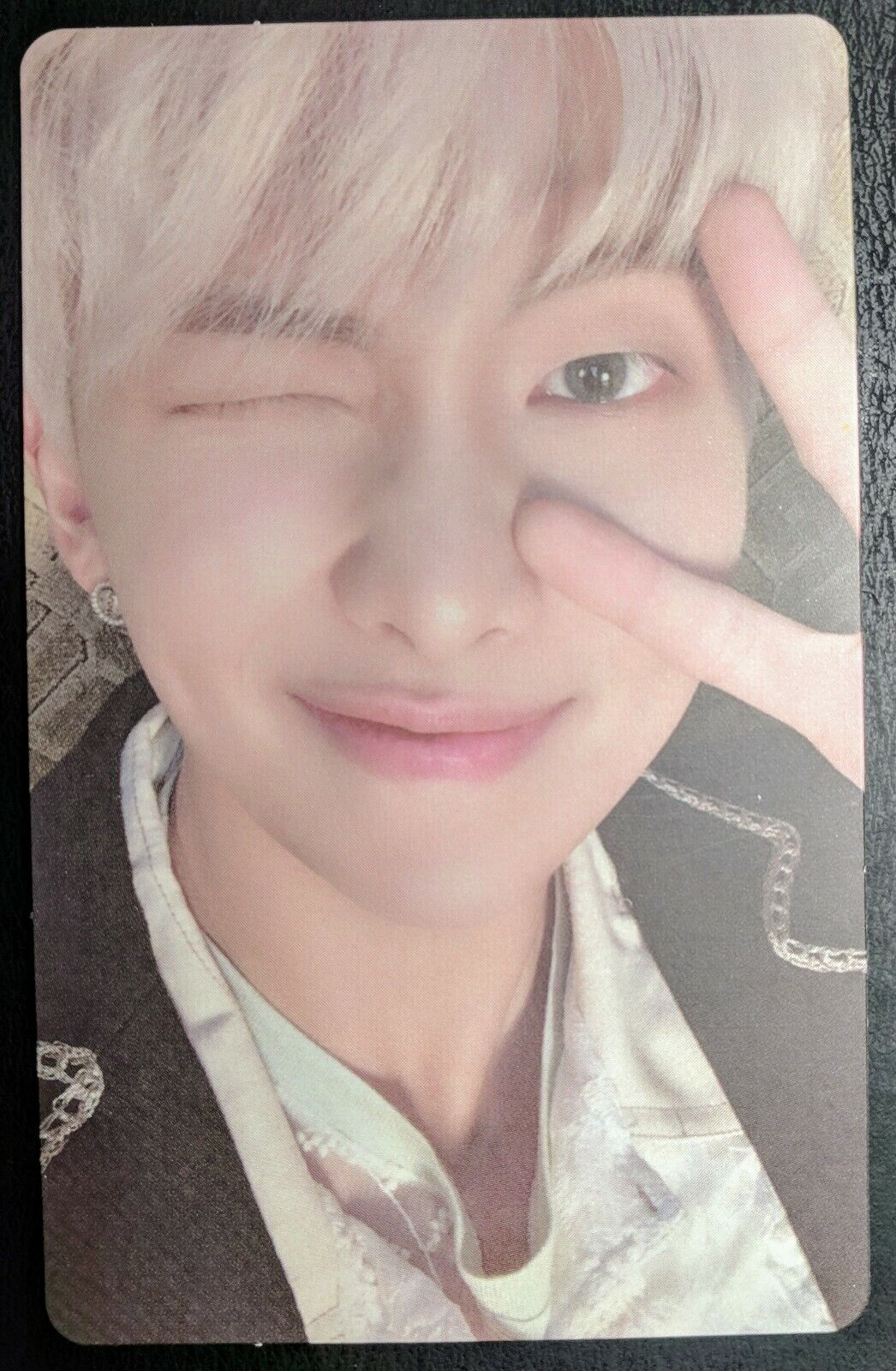 BTS Official V SUGA JIN JUNGKOOK RM photocard Wings Love Yourself Tear US seller RM (Ver 2 Map Of The Soul Persona PC)