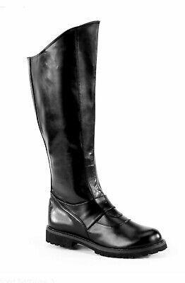 Black Panther Thor Cosplay Knee High Super Hero Costume Boots Mens All SIZES