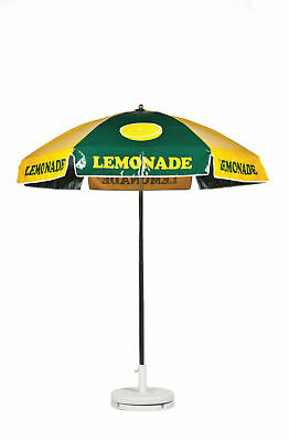 Lemonade Vendor Cart Concession Umbrella
