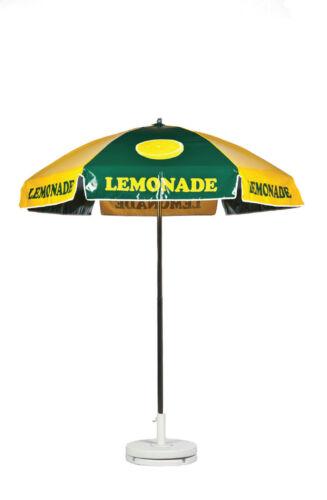 Lemonade Vendor Cart Concession Umbrella