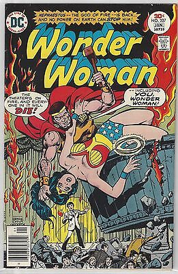 WONDER WOMAN #227 vs Hephaestus (1976) DC Comics VF (8.0)