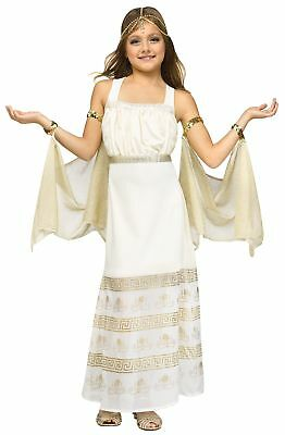 Golden Goddess Halloween Costume Girls Cleopatra Roman Gown Princess - Girl Goddess Halloween Costumes