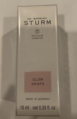 Dr. Barbara Strum Molecular Cosmetics Glow Drops 0.33 oz / 10 ml NIB *Sealed*
