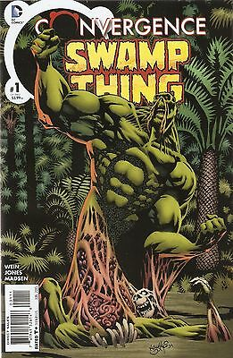 Convergence Swamp Thing '15 1 Jones Cover NM S3