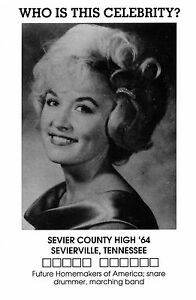Dolly-Parton-Sevier-County-High-School-yearbook-photo ...