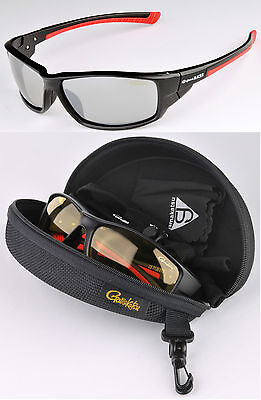 Gamakatsu G-glasses Racer Light Gray Mirrow Polarisationsbrille Polbrille Race