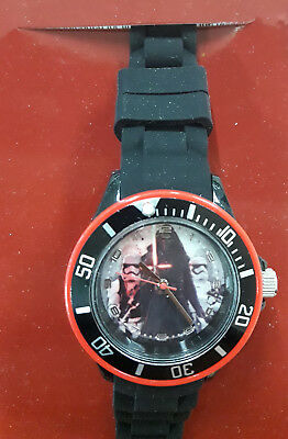 Disney Star Wars Armbanduhr Darth Vader Kinderuhr digitale Kids Watch Lernuhr