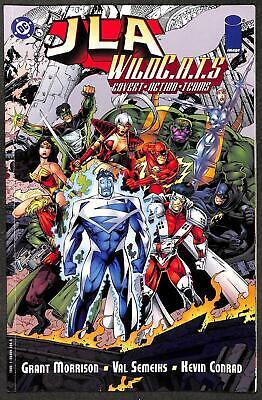 JLA / Wildcats Crime Machine (One-Shot)
