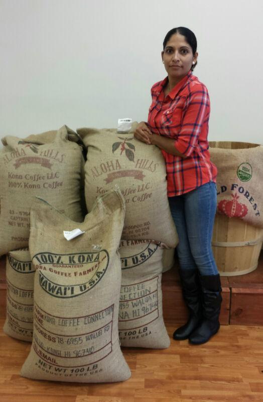 100% Kona / Hawaiian Fresh Roasted Daily Coffee Whole Beans  -  12 OZ Bag !