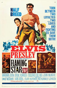 FLAMING-STAR-ELVIS-PRESLEY-Vintage-Movie-Poster-A1A2A3A4Sizes